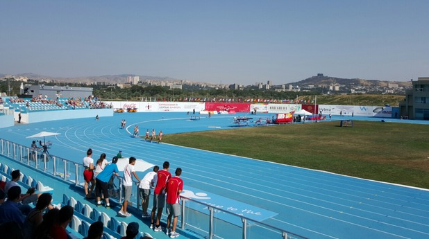 европейски младежки олимпийски фестивал, лиляна георгиева, тбилиси, лека атлетика