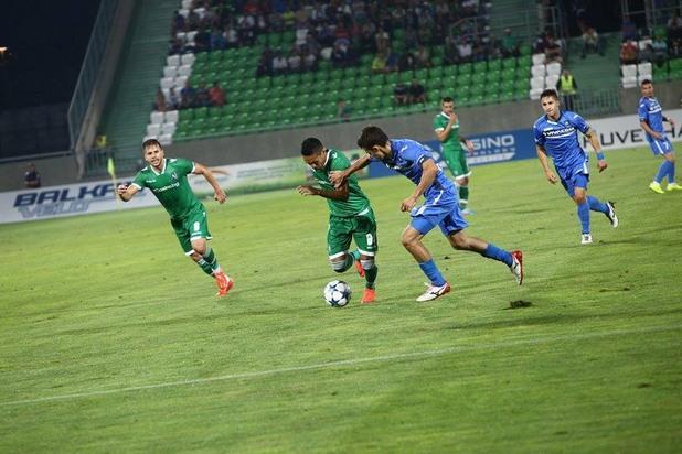 Лудогорец - Левски 2:0 01.08.2015г.