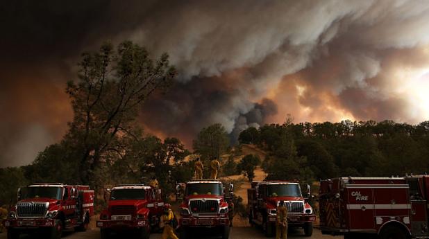 калифорния, пожар, пожарна