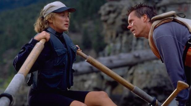 мерил стрийп и кевин бейкън в дивата река