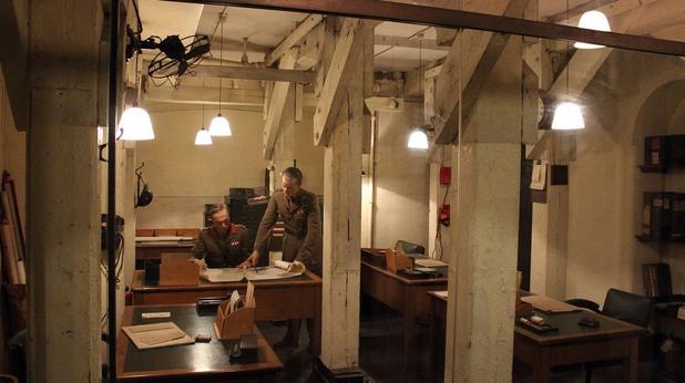 Подземният живот на Лондон, заседателен кабинет на правителството по време на Втората световна война