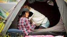 Къмпингуване, палатка