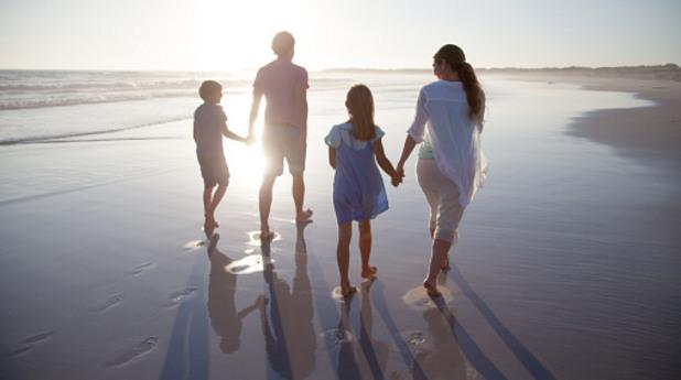деца, море, почивка, ваканция