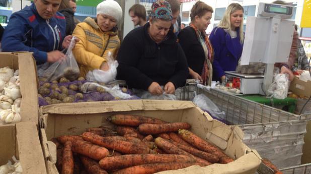 русия, пазаруване, пазар, храна, ембарго