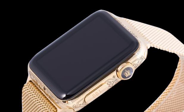 apple watch, caviar