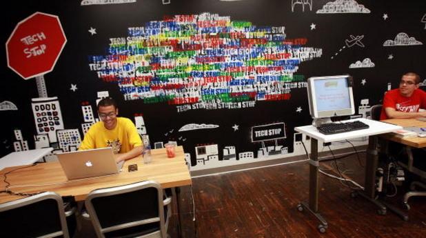Офис на Google в New York