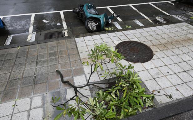 Тайфун взе жертви в Тайван