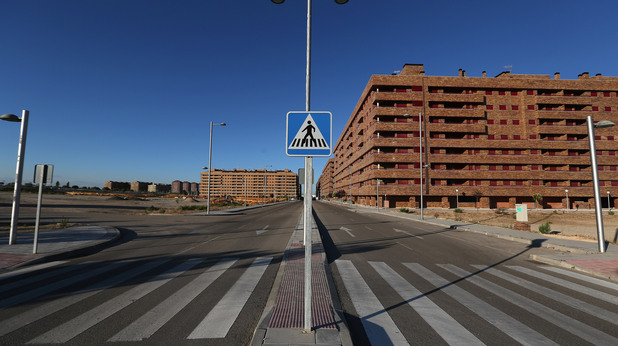 град-призрак в испания