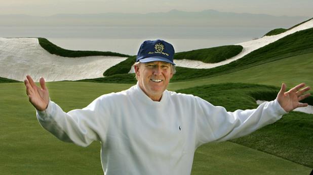 Доналд Тръмп на голф игрището