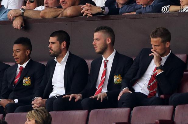 вратарите на Юнайтед
