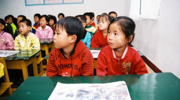 кндр, северна корея, деца, ученици