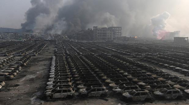 Тиендзин, взрив, експлозия, китай