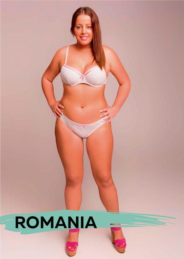 идеалното тяло - Румъния