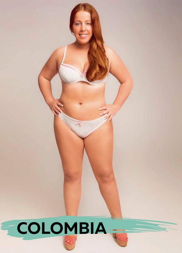 идеалното тяло - Колумбия