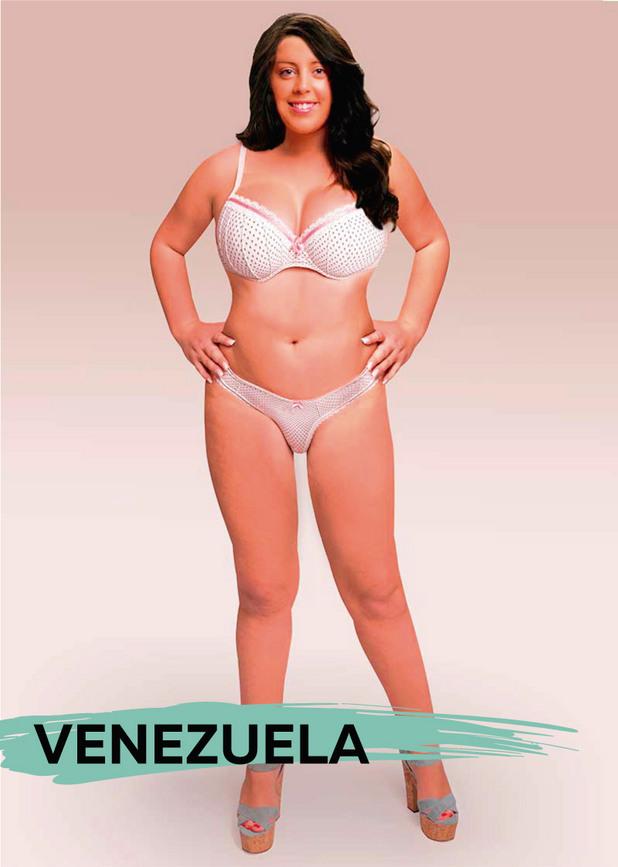 идеалното тяло  - Венецуела