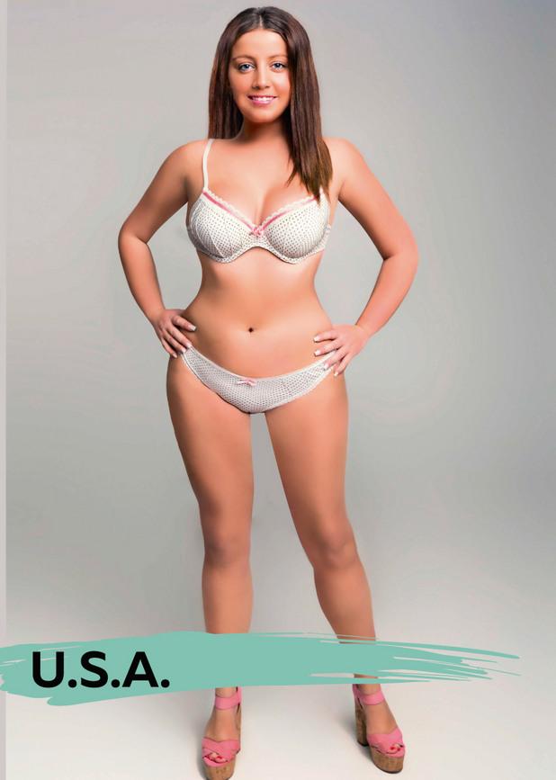 идеалното тяло - САЩ