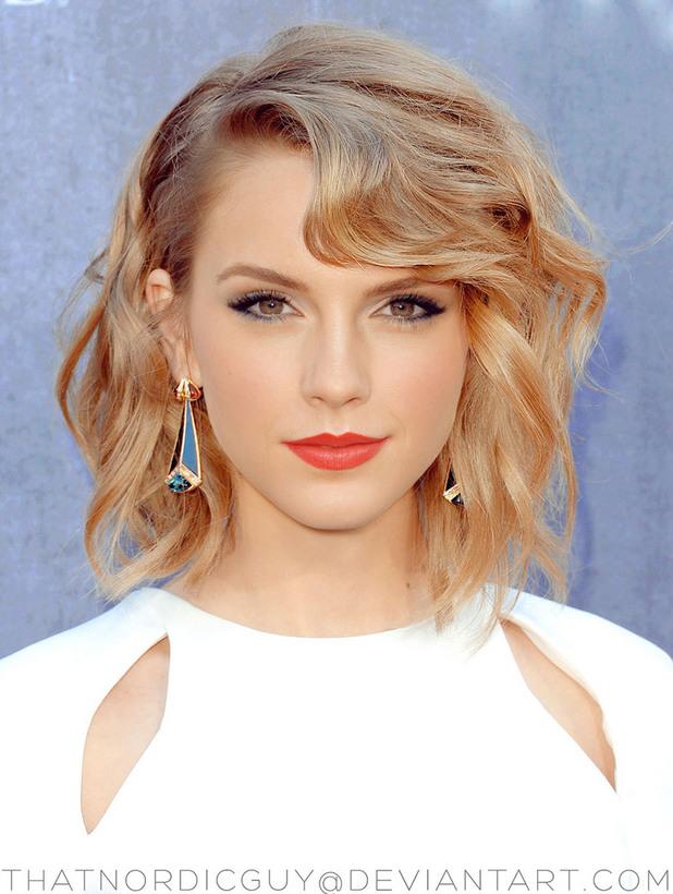 2 в 1 лица Taylor Swift / Emma Watson