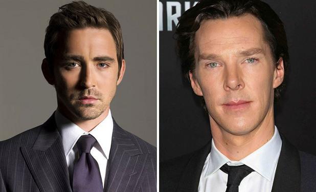 2 в 1 лица Lee Pace / Benedict Cumberbatch