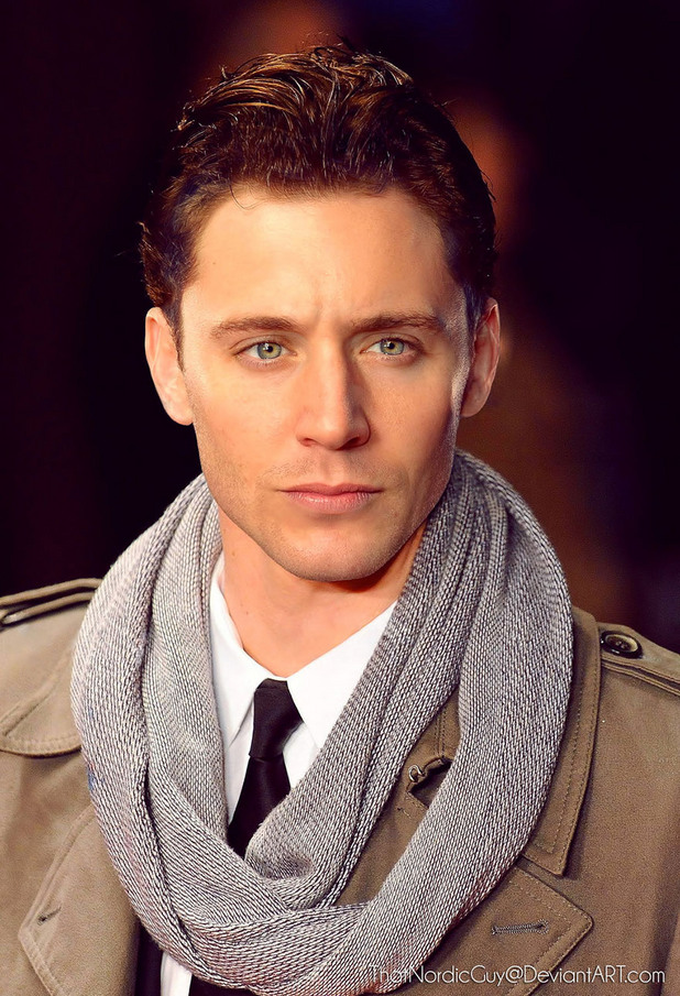2 в 1 лица Jensen Ackles / Tom Hiddleston