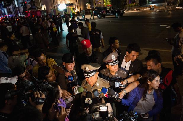 Полиция в Банкок