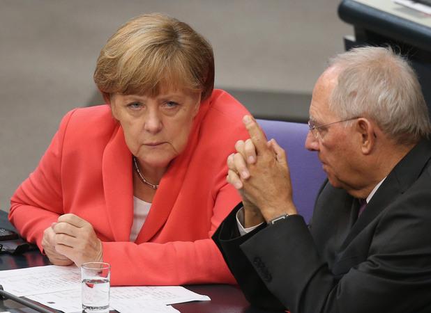ангела меркел и волфганг шойбле