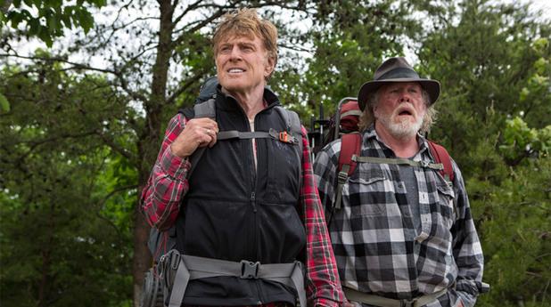 робърт редфорд и ник нолти в a walk in the woods
