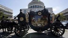 Холивудско погребение на ромски бос в Рим