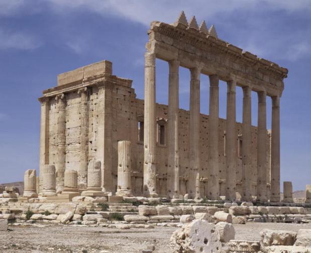 храмът на баал-шамин в палмира