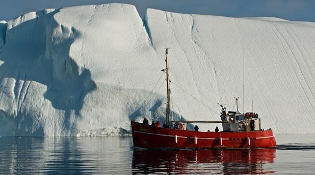 айсберг, гренландия