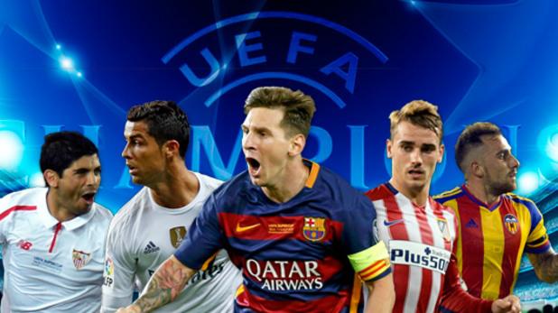 Испания с пет отбора в групите на ШЛ