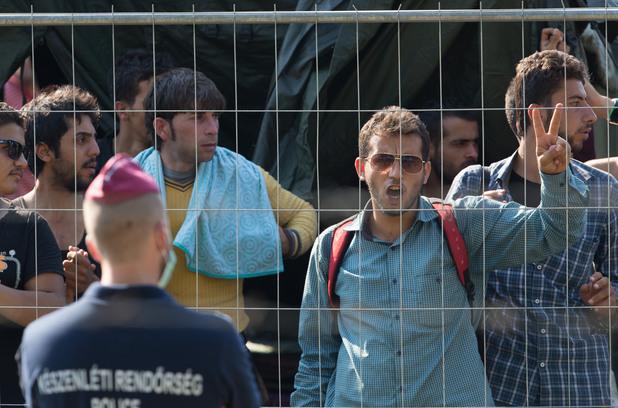 приемен лагер за нелегални имигранти в унгария