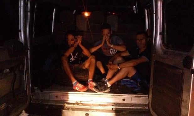 акция на унгарската полиция срещу трафика на хора