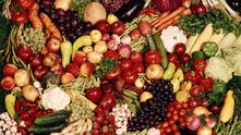 веган, вегетарианство, зеленчуци, плодове, храна, вегетарианец
