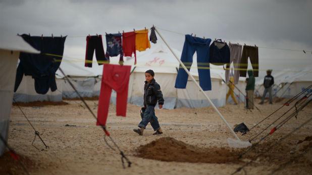 сирийски бежански лагер