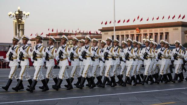 военен парад в китай