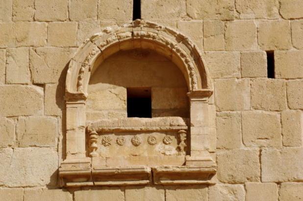 детайл от гробницата на елахбел, палмира