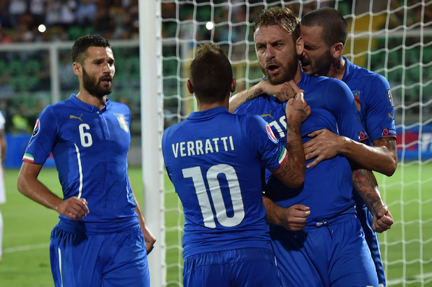 Италия - България 1:0