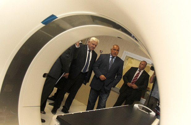 бойко борисов на посещение в специализираната онкологична болница в софия