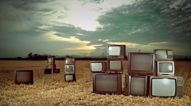 телевизор, телевизия, нива