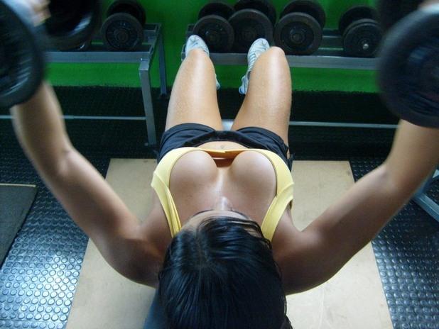 тренировка, гърди