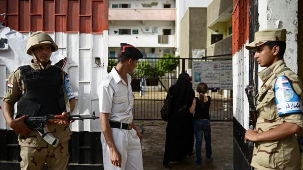 полиция в египет