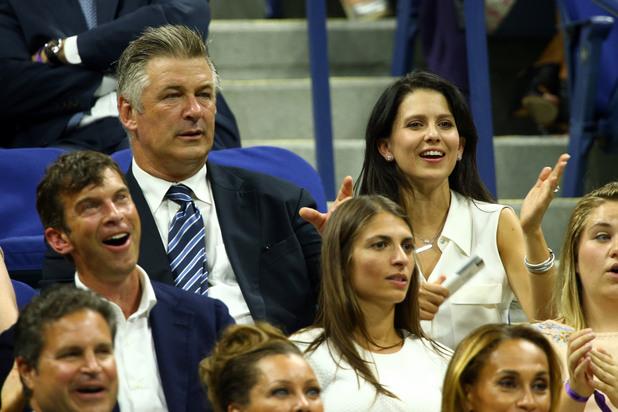 Алек Болдуин бе със съпругата си Хилария