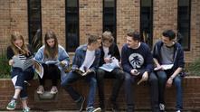 Ученици след тест