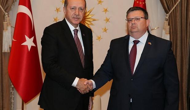 Реджеп Тайип Ердоган се срещна с Цацаров