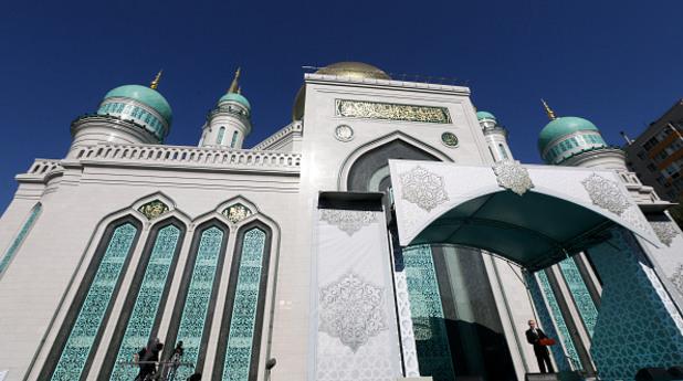 Путин и Ердоган откриха огромна джамия в Москва