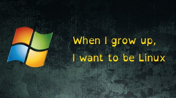 when i grow up i want to be linux