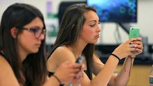 Забрана за телефоните в училище