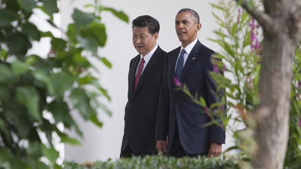 Барак Обама и Си Цзинпин
