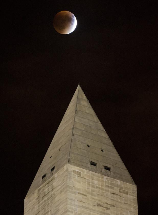 кървава луна - вашингтон