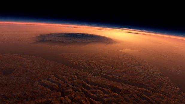 На Марс има вода